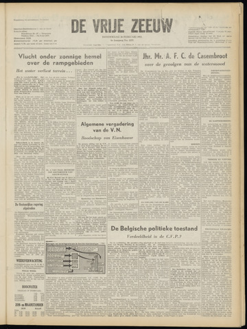 de Vrije Zeeuw 1953-02-26