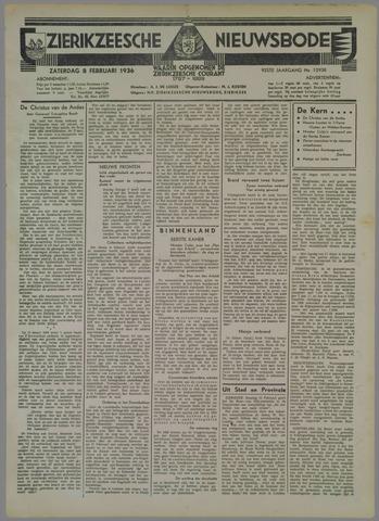 Zierikzeesche Nieuwsbode 1936-02-08