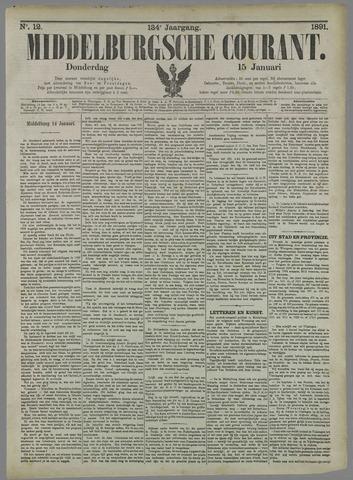 Middelburgsche Courant 1891-01-15