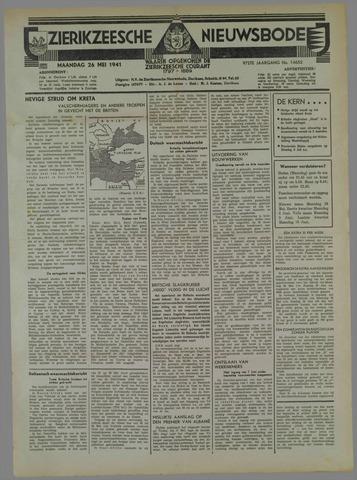Zierikzeesche Nieuwsbode 1941-05-26