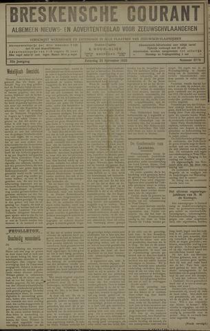 Breskensche Courant 1922-11-25