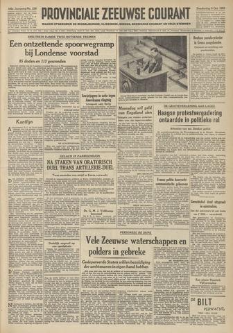 Provinciale Zeeuwse Courant 1952-10-09