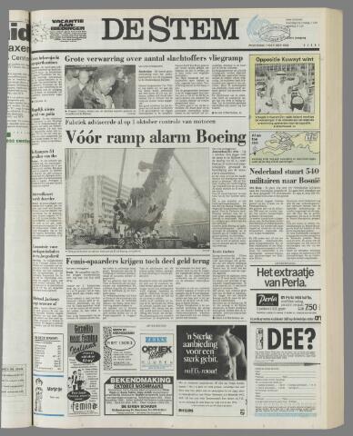de Stem 1992-10-07