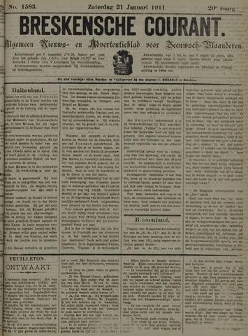 Breskensche Courant 1911-01-21