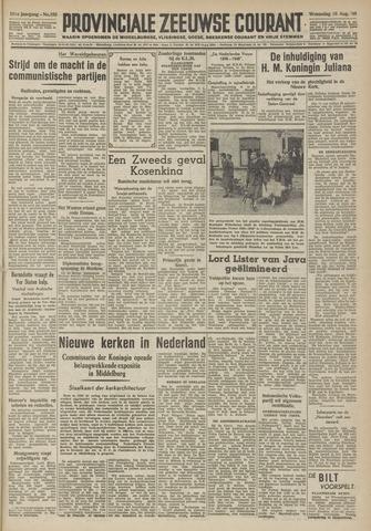 Provinciale Zeeuwse Courant 1948-08-18