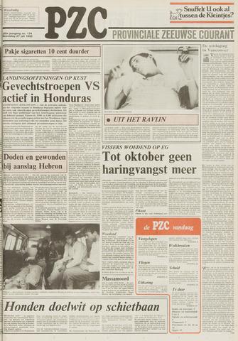 Provinciale Zeeuwse Courant 1983-07-27