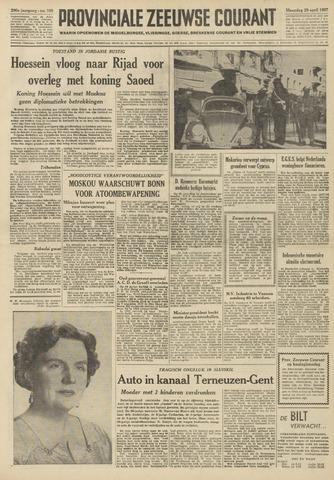 Provinciale Zeeuwse Courant 1957-04-29