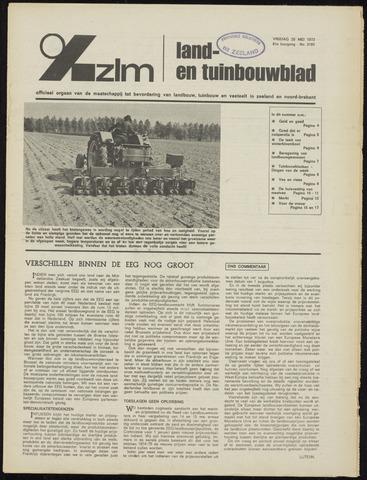 Zeeuwsch landbouwblad ... ZLM land- en tuinbouwblad 1973-05-25
