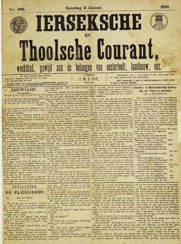 Ierseksche en Thoolsche Courant 1891