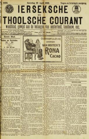 Ierseksche en Thoolsche Courant 1913-04-12