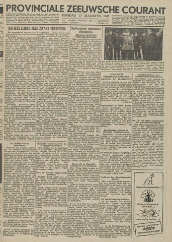 Provinciale Zeeuwse Courant 1943-08-17
