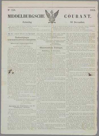 Middelburgsche Courant 1854-12-16