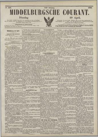 Middelburgsche Courant 1902-04-29