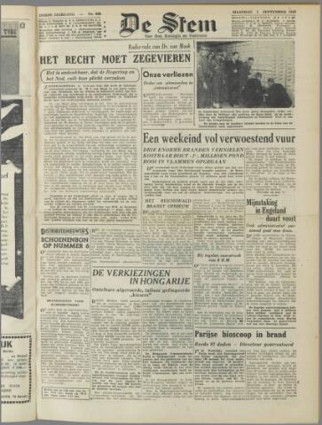 de Stem 1947-09-01