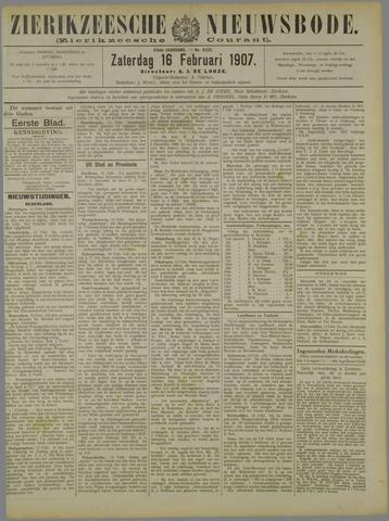Zierikzeesche Nieuwsbode 1907-02-16