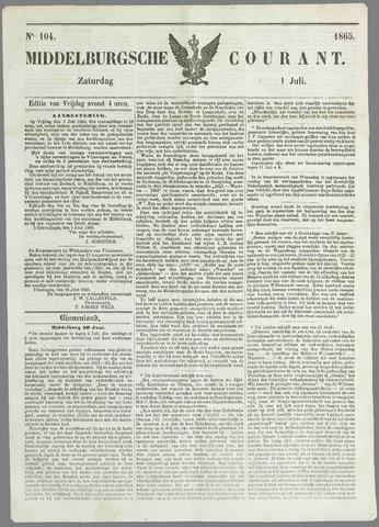 Middelburgsche Courant 1865-07-01