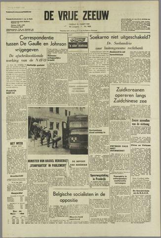 de Vrije Zeeuw 1966-03-25