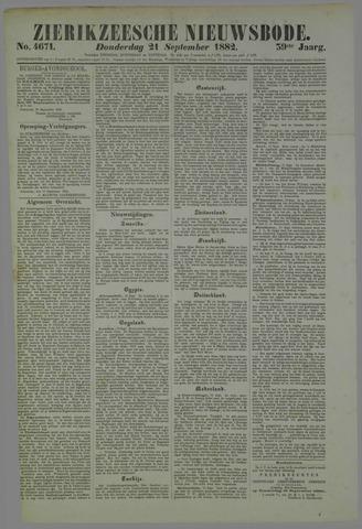 Zierikzeesche Nieuwsbode 1882-09-21