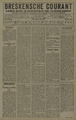 Breskensche Courant 1927-04-27