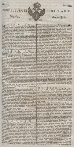 Middelburgsche Courant 1777-04-01