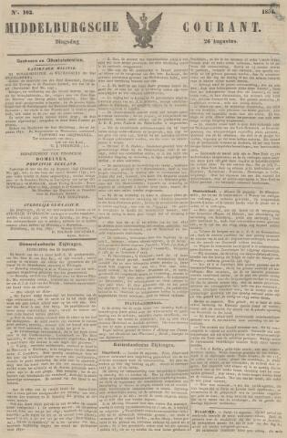 Middelburgsche Courant 1851-08-26