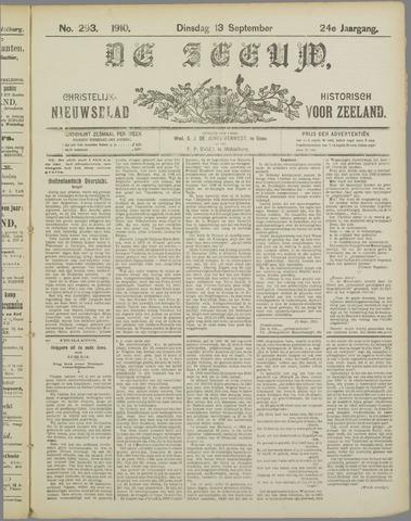 De Zeeuw. Christelijk-historisch nieuwsblad voor Zeeland 1910-09-13
