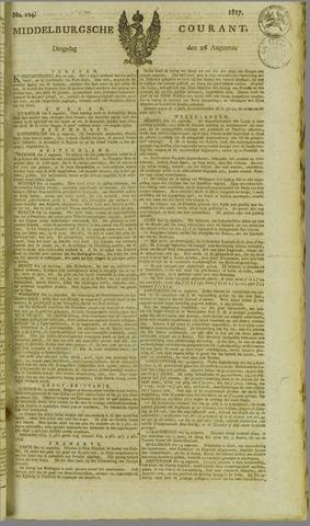 Middelburgsche Courant 1817-08-26