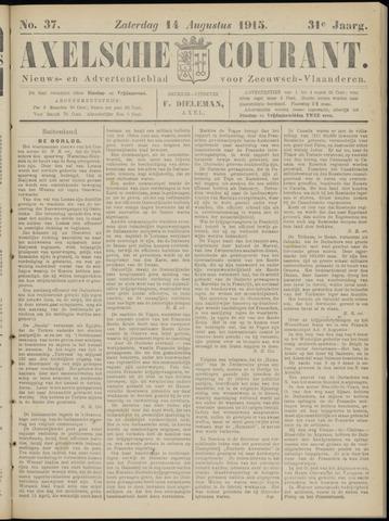 Axelsche Courant 1915-08-14