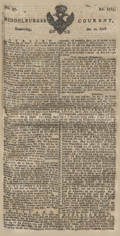 Middelburgsche Courant 1775-04-20