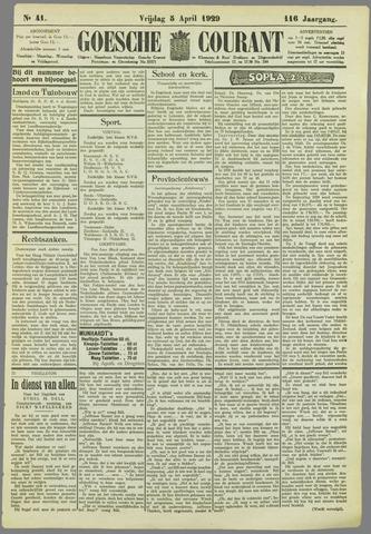 Goessche Courant 1929-04-05
