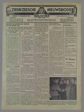 Zierikzeesche Nieuwsbode 1941-08-16