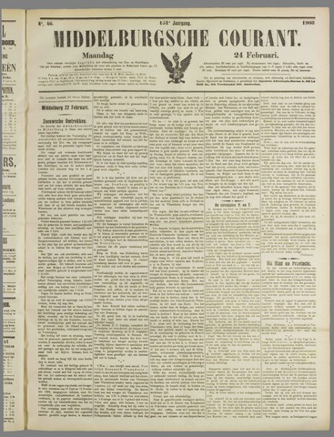 Middelburgsche Courant 1908-02-24