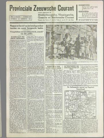 Provinciale Zeeuwse Courant 1940-08-10