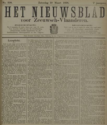 Nieuwsblad voor Zeeuwsch-Vlaanderen 1898-03-19