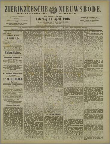 Zierikzeesche Nieuwsbode 1906-04-14