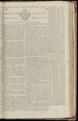 Middelburgsche Courant 1795-08-27