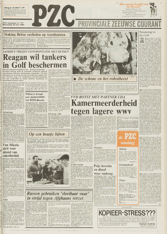 Provinciale Zeeuwse Courant 1984-05-23
