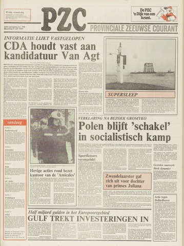 Provinciale Zeeuwse Courant 1981-07-06