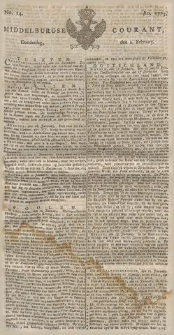 Middelburgsche Courant 1775-02-02