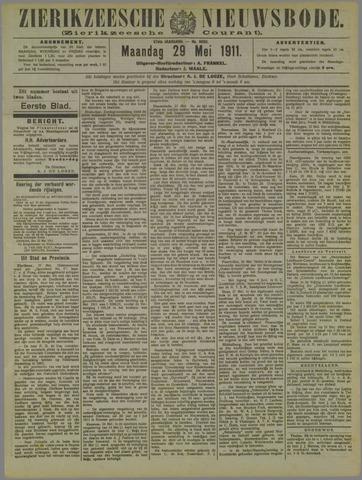 Zierikzeesche Nieuwsbode 1911-05-29