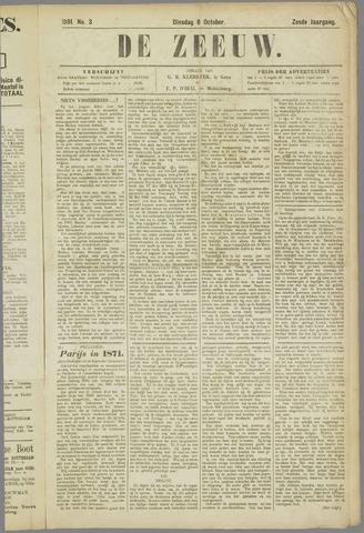 De Zeeuw. Christelijk-historisch nieuwsblad voor Zeeland 1891-10-06
