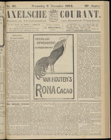 Axelsche Courant 1912-11-06