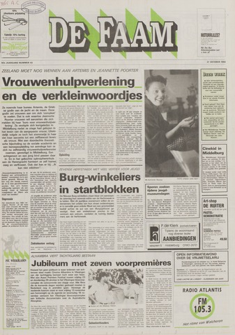 de Faam en de Faam/de Vlissinger 1992-10-21