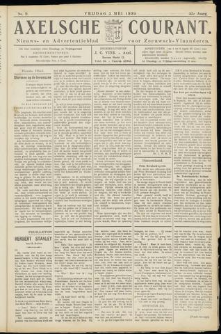 Axelsche Courant 1939-05-05