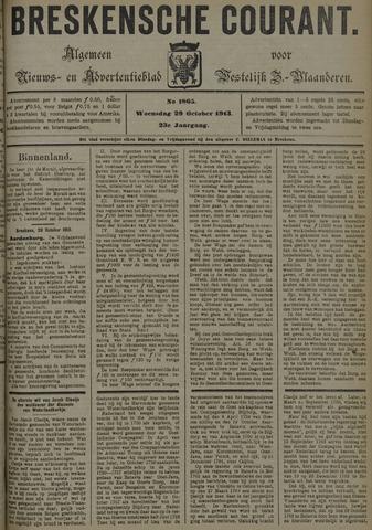 Breskensche Courant 1913-10-29