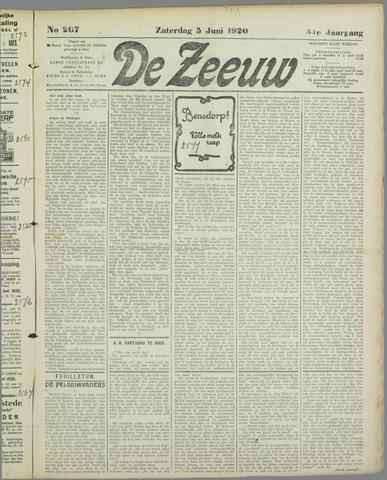 De Zeeuw. Christelijk-historisch nieuwsblad voor Zeeland 1920-06-05