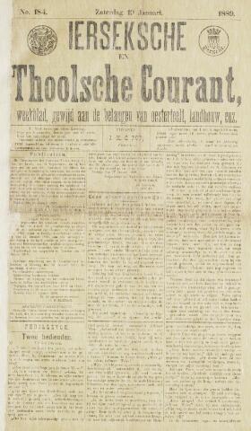 Ierseksche en Thoolsche Courant 1889-01-19