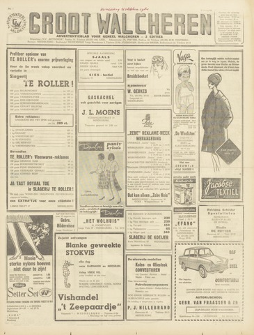 Groot Walcheren 1964-10-21