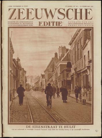Ons Zeeland / Zeeuwsche editie 1931-02-13