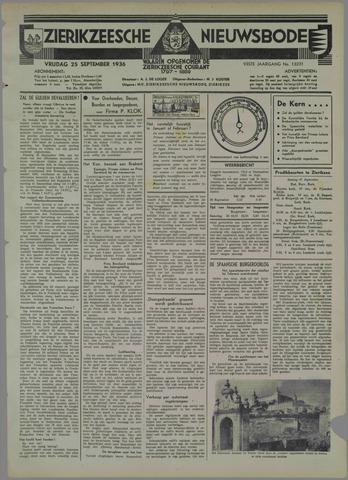 Zierikzeesche Nieuwsbode 1936-09-25
